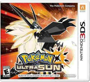 Pokemon Ultra Sun Nintendo 3ds Nuevo Y Sellado
