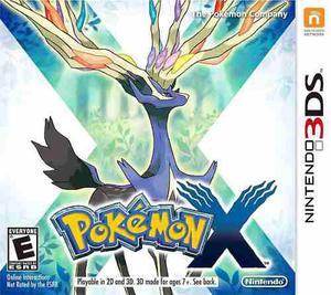 Pokemon X (nuevo Y Sellado) - Nintendo 3ds