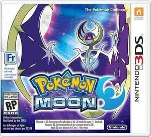 Pokémon Moon Luna Para Nintendo 3ds