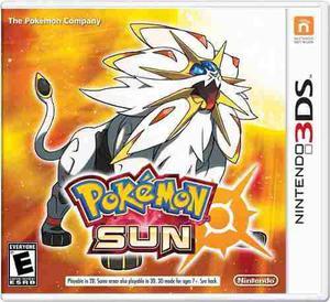 Pokémon Sun Para Nintendo 3ds En Wholegames !!!