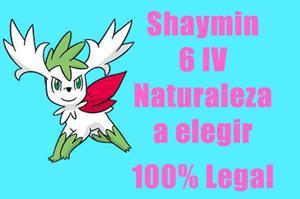Shaymin Pokemon De Evento 6iv Competitivo