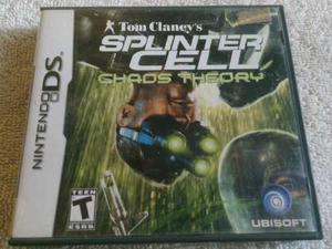 Splinter Cell Chaos Theory Nintendo Ds Nds Juego Completo