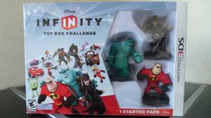 Starter Pack Disney Infinity Nintendo 3ds Nuevo Sellado