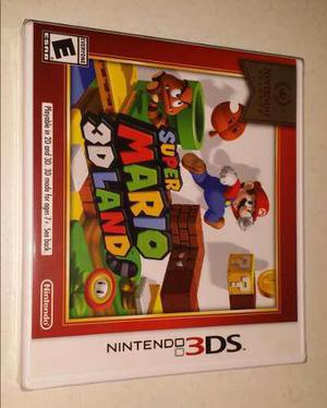 Super Mario 3d Land - Nintendo 3ds - Nuevo
