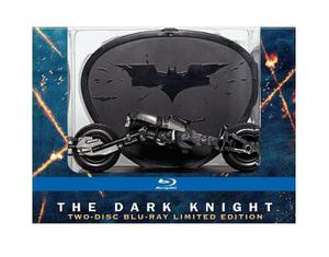 The Dark Knight Batman 2 Edicion Limitada Con Moto Blu-ray