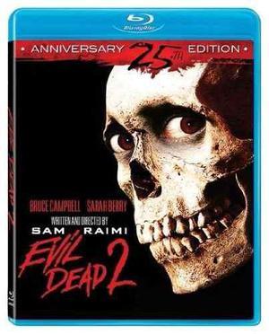 The Evil Dead 2 Edicion 25 Aniversario Pelicula En Blu-ray