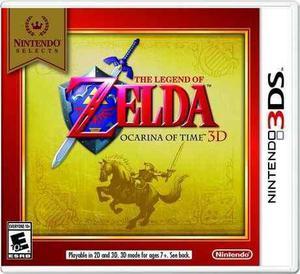 The Legend Of Zelda Ocarina Of Time Nintendo 3ds Nuevo