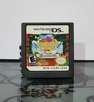 Video Juego Gardening Mama Para Nintendo Ds