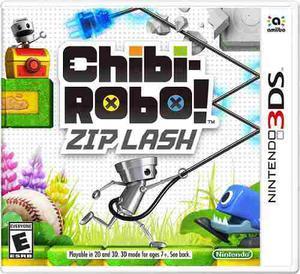 Videojuego Chibi Robo Zip Lash Nintendo 3ds Gamer