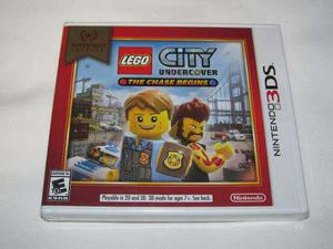 Videojuego Lego City Undercover Chase Begins Nintendo 3ds Nw
