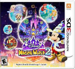 Videojuego Magical World 2 Nintendo 3ds Gamer Disney
