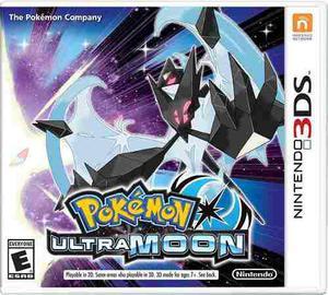 Videojuego Pokemon Ultra Moon Nintendo 3ds Nuevo Sellado