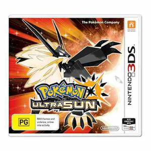 Videojuego Pokemon Ultra Sun Nintendo 3ds Gamer