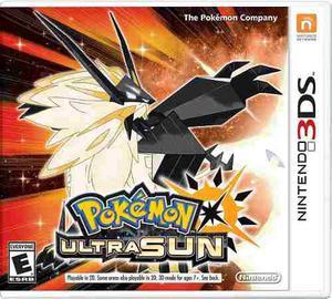Videojuego Pokemon Ultra Sun Nintendo 3ds Nuevo Sellado