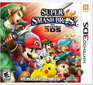 Videojuego Super Smash Bros Nintendo 3ds Gamer
