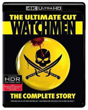Watchmen The Ultimate Cut Pelicula En 4k Ultra Hd + Cop Dig