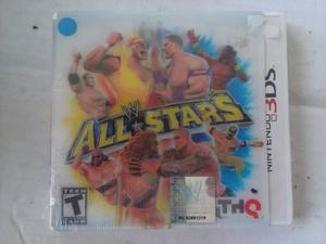 Wwe All Stars 3ds Nuevo Nintendo Wrestlemania Trqs Lucha