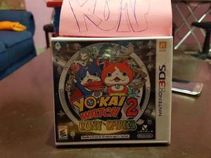 Yo Kai Watch 2 Bony Spirits Juego Para Nintendo 3ds Nuevo