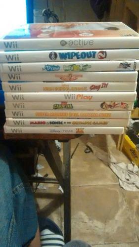 10 Juegos Para Nintendo Wii Precio Por Todos Mario