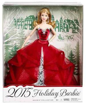 2015 Holiday Barbie Nueva Sellada Original Envio Gratis