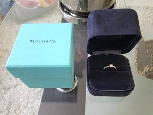 Anillo De Compromiso Tiffany&co. Harmony Diamante.28ct