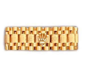 Anillo Tejido Rolex De Oro 14kt A Tu Medida Nuevo 10mm