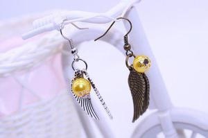 Aretes Snitch Dorada, Harry Potter, Mod.j030
