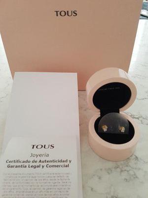 Aretes Tous Oro Y Brillantes Tous Tiffany Bvlgari Tous T&co