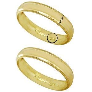 Argollas De Matrimonio Oro 10kt 4mm Precio Por Par