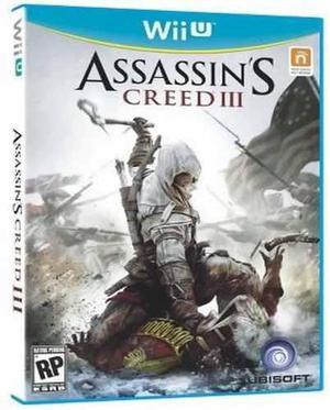 Assassins Creed 3 Nintendo Wii U Nuevo Y Sellado Juego