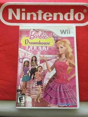 Barbie Dreamhouse Party Juego Para Nintendo Wii