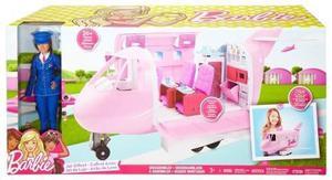 Barbie Jet De Lujo Glamour Avión Glam Incluye Barbie
