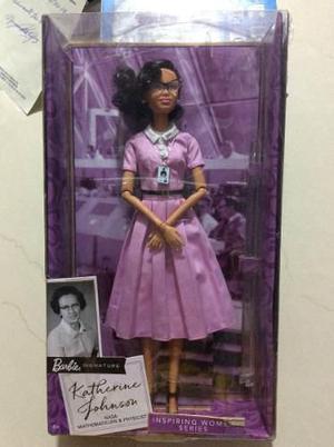Barbie Muñeca Katherine Johnson Importada Nueva