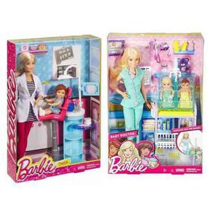 Barbie Profesiones Pediatra Y Dentista