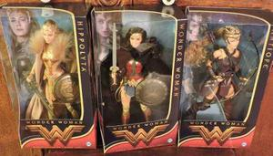 Barbie Wonder Woman Serie De 3 Barbies Mujer Maravilla