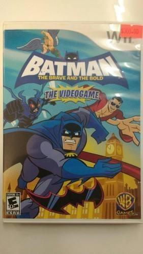 Batman The Brave And The Bold Wii Seminuevo En Igamers