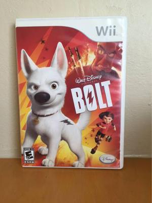 Bolt Juego Para Wii