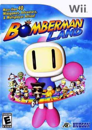 Bomberman Land Para Wii Nuevo
