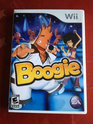 Boogie, Juego Para Wii,con Microfono Al 100%,envio Gratis