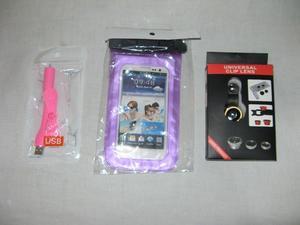 COMBO PAQUETE de accesorios para CELULAR