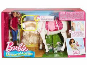 Caballo Interactivo De Barbie Mattel