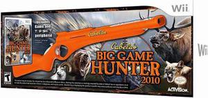 Cabelas Big Game Hunter 2010 Wii Nuevo En Caja