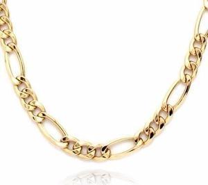 Cadena Figaro 3 X 1 De Oro Macizo 14k 60cm. 30grs Solid Gold