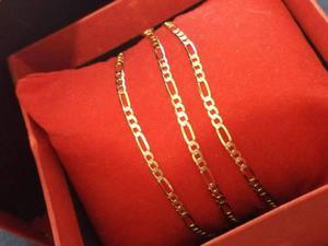 Cadena Tejido Cartier En Oro Solido De 14k Diseño