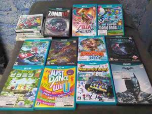 Cajas Para Juegos Wii U Zelda,donkey Kong,mario Kart 8, Resi