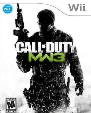 Call Of Duty Modern Warfare 3 Cod Wii Nuevo Y Sellado Juego