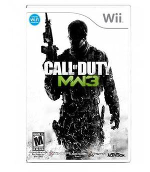 Call Of Duty Modern Warfare 3 Mw3 Wii Nuevo
