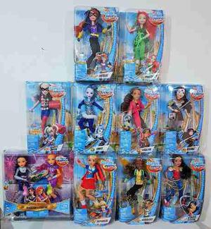 Coleccion 11 Muñecas Dc Super Hero Girls