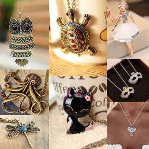 Collar De Moda Retro Vintage - Hermosos Collares Diseños