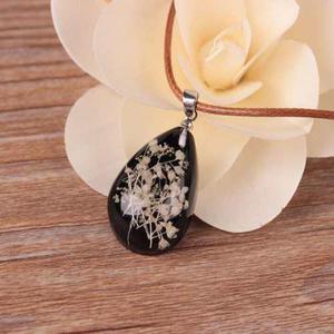 Collar Flor De Cristal Fluorescente Luminoso Envio Gratis